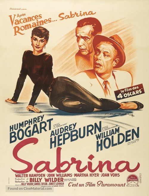 Sabrina - French Movie Poster