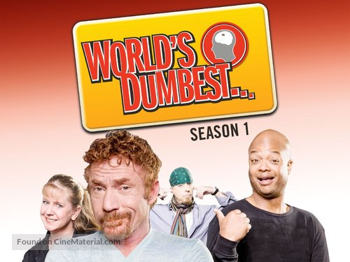 """""""World's Dumbest"""" - Video on demand movie cover"""