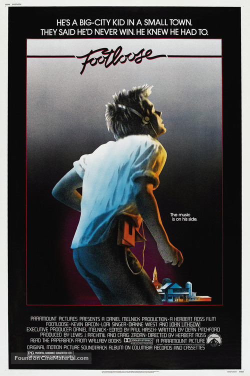 Footloose - Movie Poster