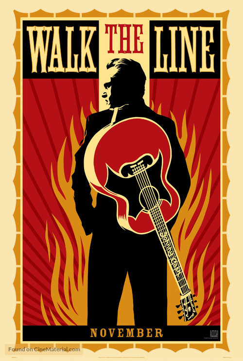 Walk the Line - Teaser movie poster