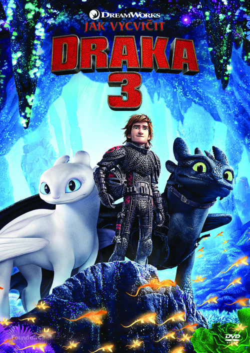 How to Train Your Dragon: The Hidden World - Czech DVD movie cover