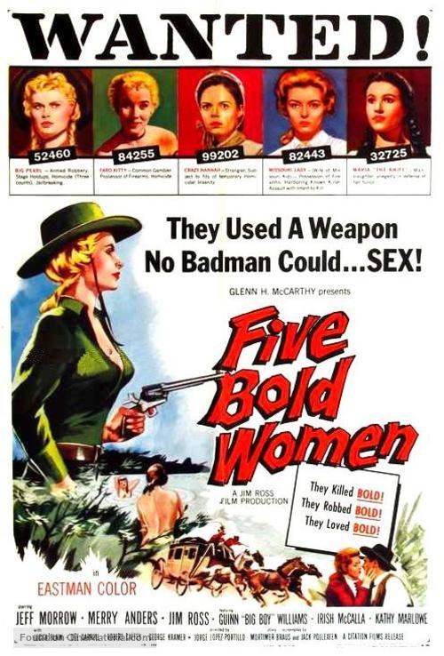 Five Bold Women - Movie Poster