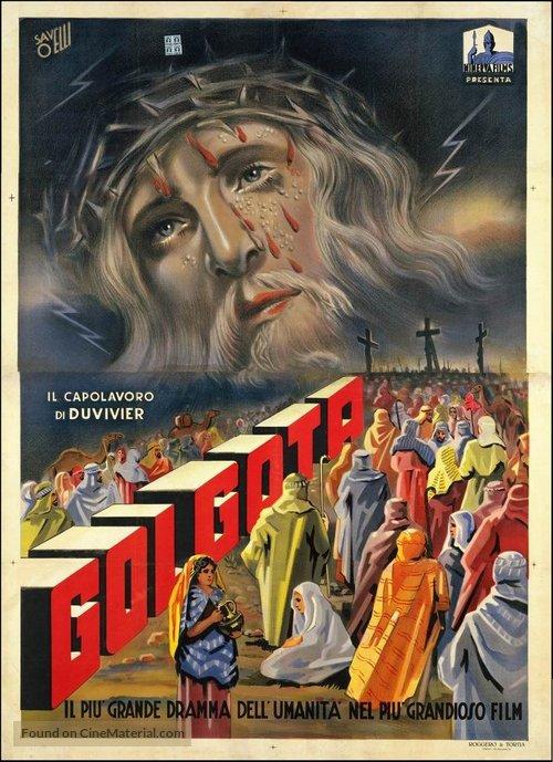 Golgotha - Italian Movie Poster