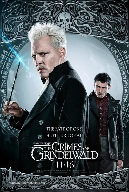 Fantastic Beasts: The Crimes of Grindelwald - Movie Poster