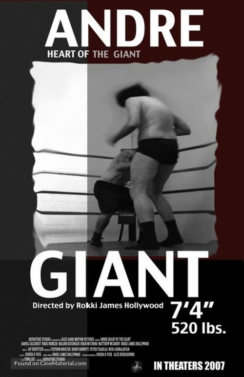 andre heart of the giant movie poster