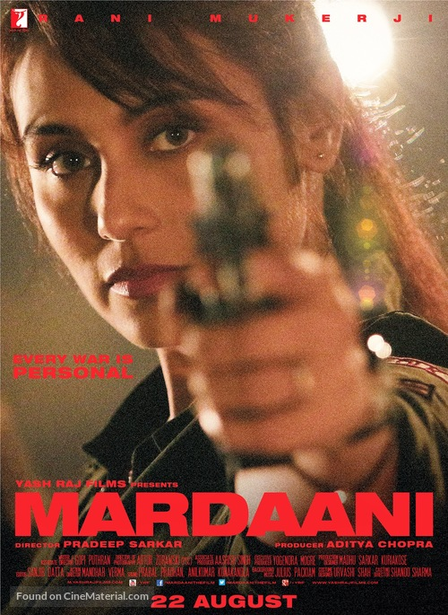 Image result for mardaani poster