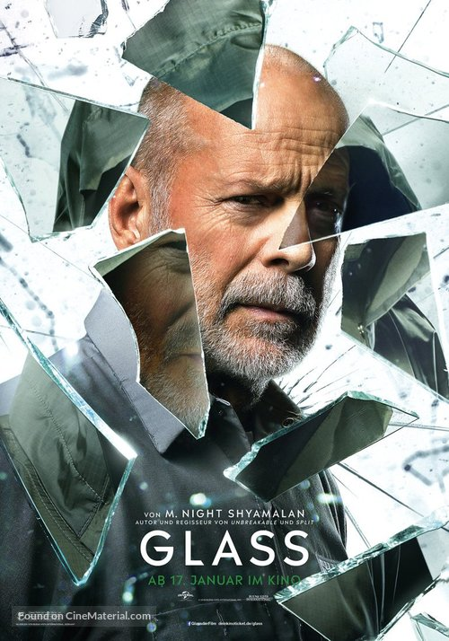 Glass - German Movie Poster