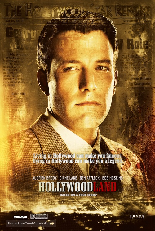 Hollywoodland - Character movie poster