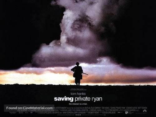 Saving Private Ryan - British poster