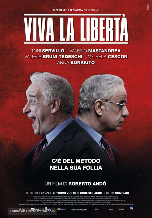 Viva la libertá - Italian Movie Poster