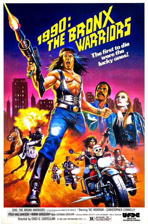 1990: I guerrieri del Bronx - Movie Poster