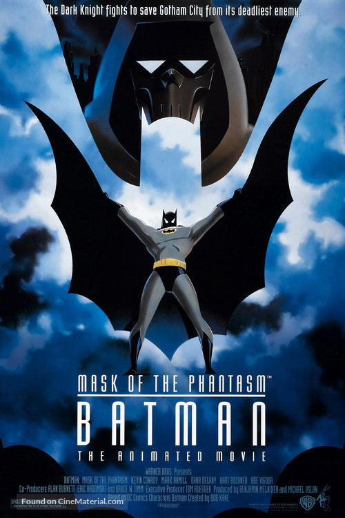 Batman: Mask of the Phantasm - Movie Poster