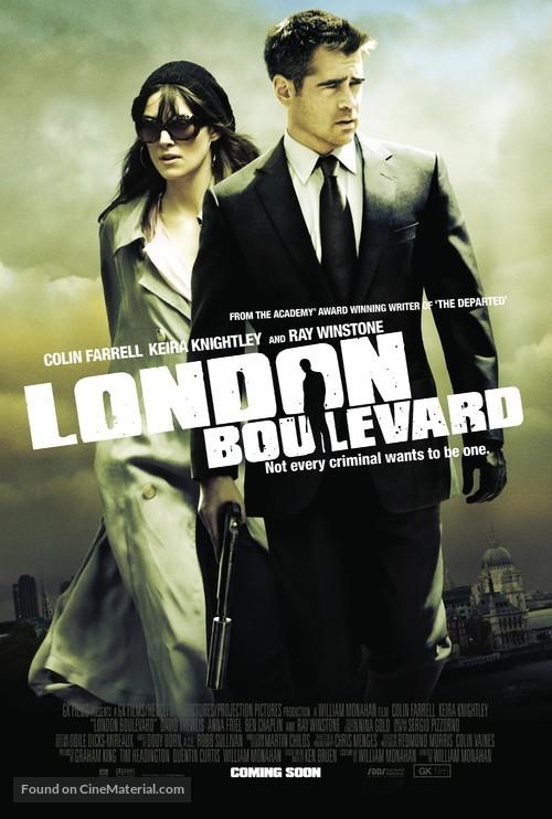 London Boulevard - British Movie Poster