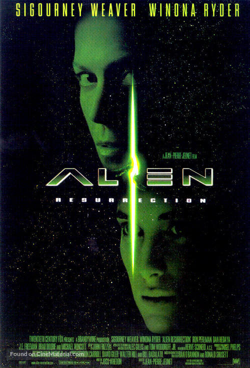 Alien: Resurrection - Movie Poster