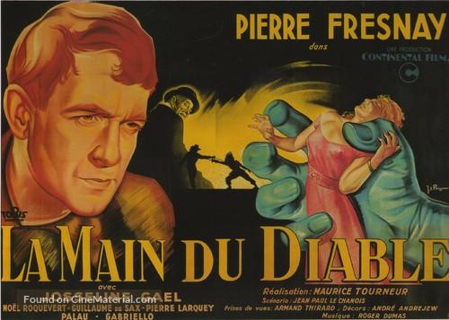 La main du diable - French Movie Poster