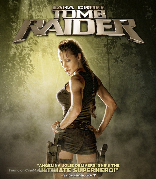 Lara Croft: Tomb Raider - Movie Cover