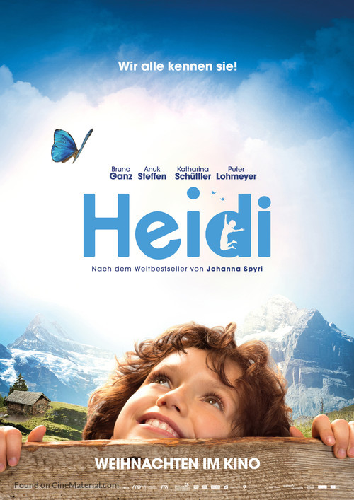Heidi - German Movie Poster