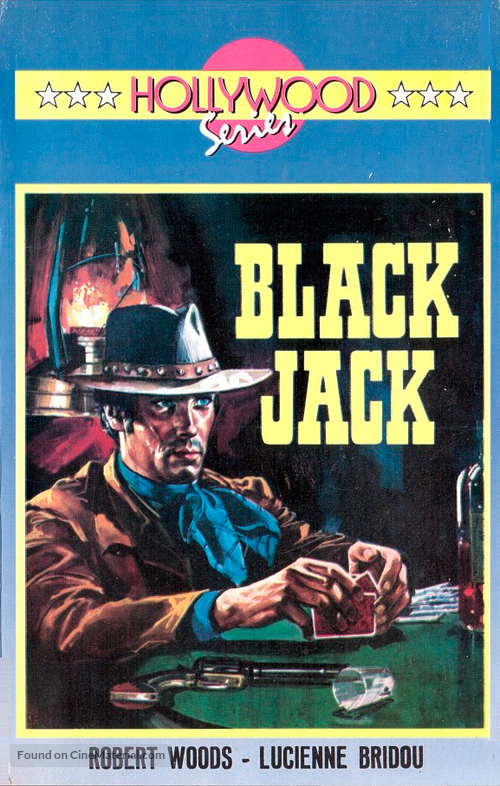 Black Jack - Finnish VHS movie cover