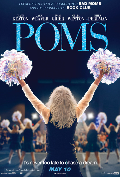 Poms - Canadian Movie Poster