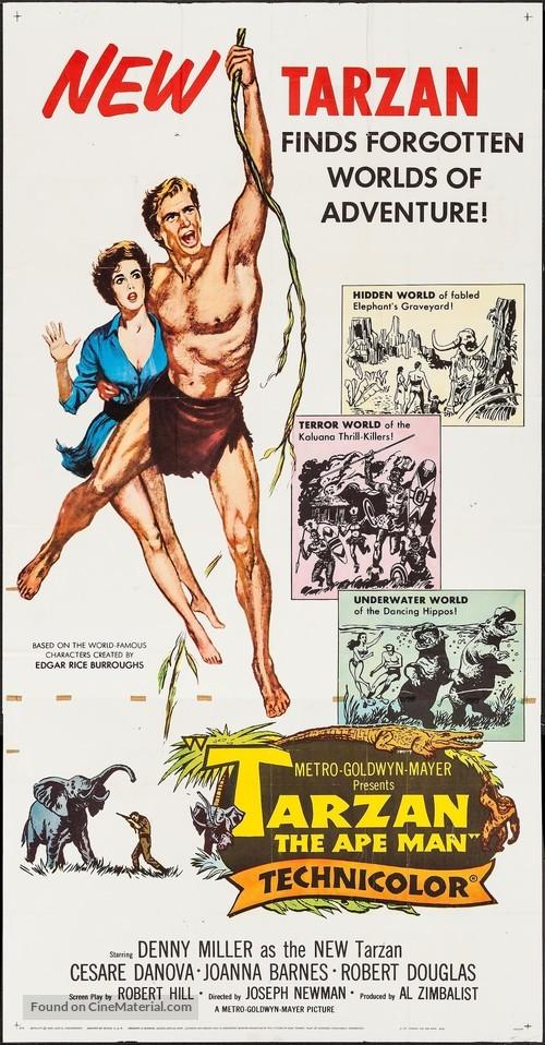 Tarzan, the Ape Man - Movie Poster