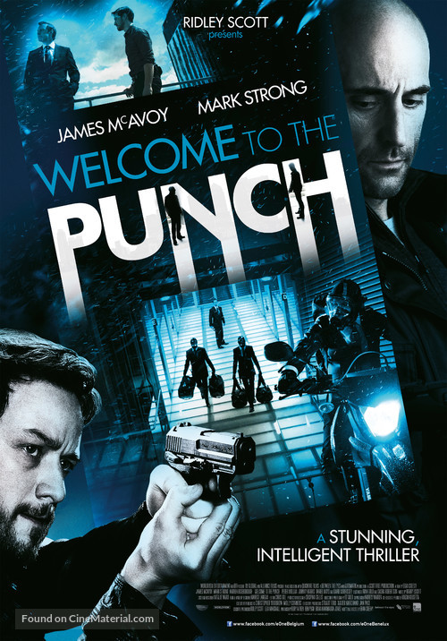 Welcome to the Punch - Belgian Movie Poster