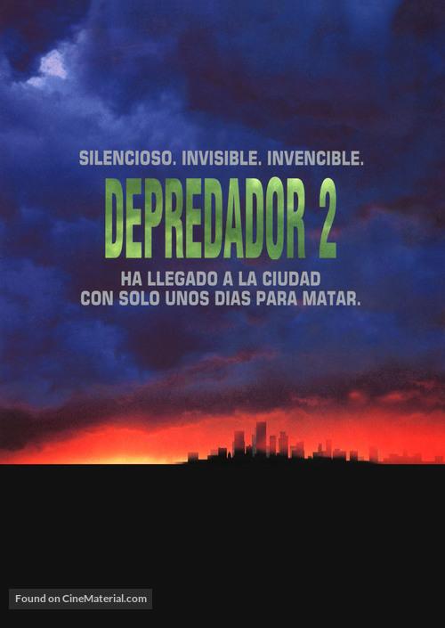Predator 2 - Spanish Movie Poster