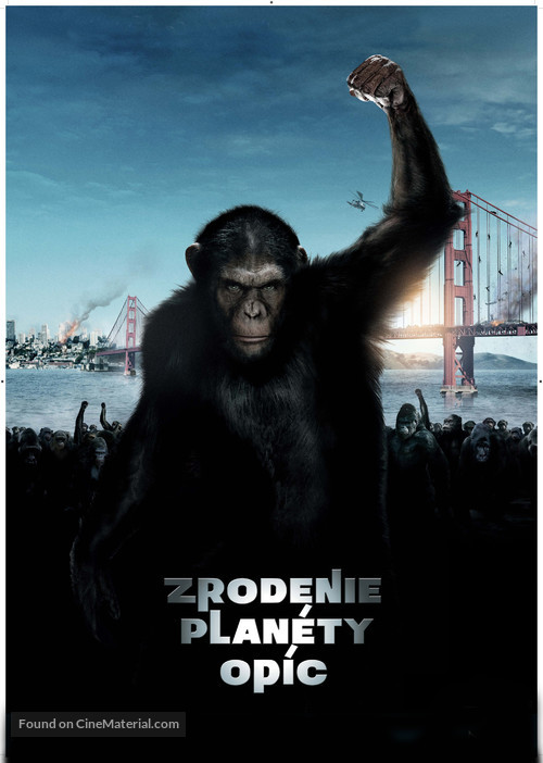 Rise of the Planet of the Apes - Slovak Movie Poster