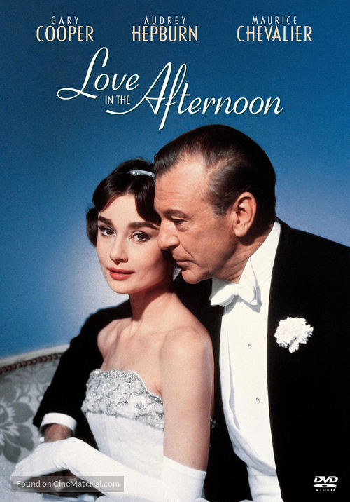 Love in the Afternoon - DVD cover