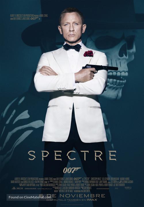 Spectre - Spanish Movie Poster