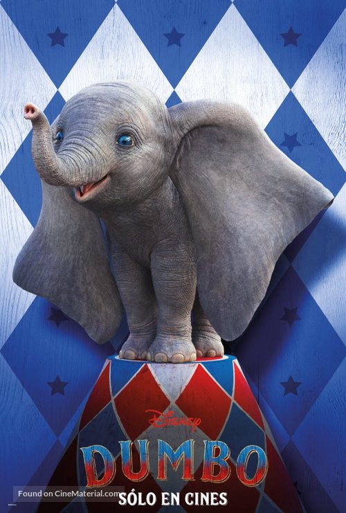 Dumbo - Mexican Movie Poster