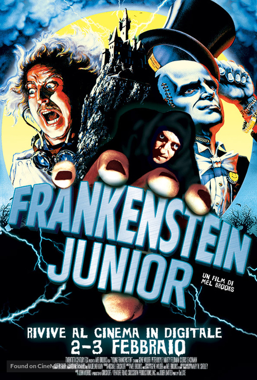 Young Frankenstein - Italian Movie Poster