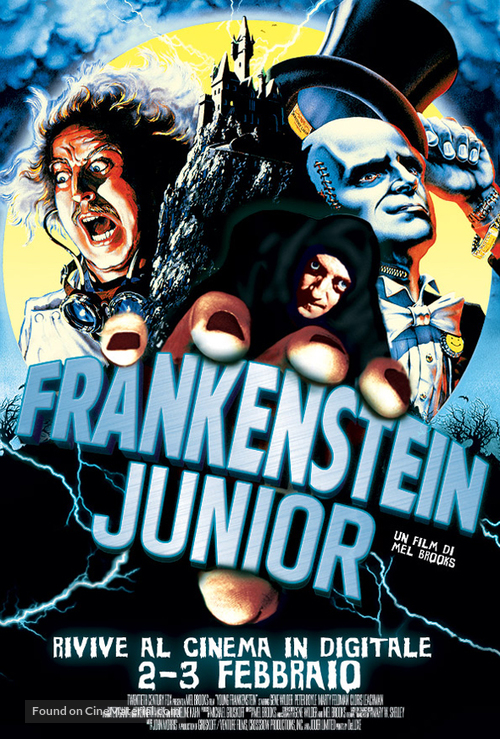 Young Frankenstein - Italian Movie Poster
