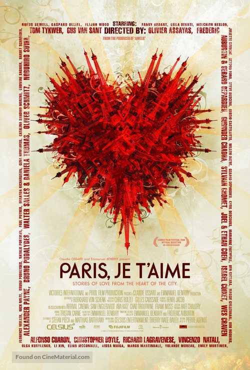 Paris, je t'aime - Movie Poster