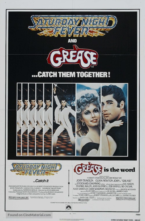Grease - Combo movie poster