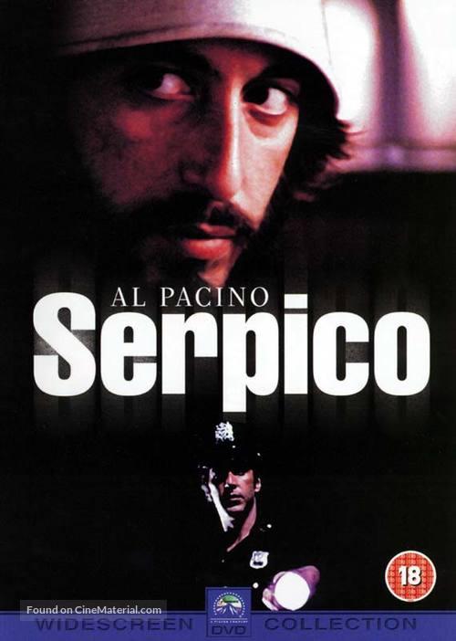 Serpico - British DVD movie cover