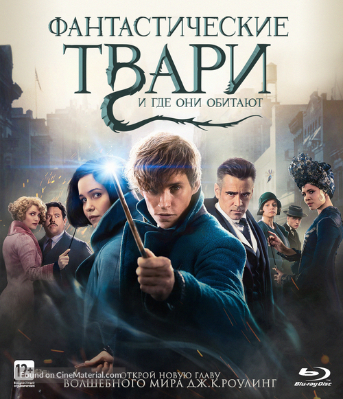 Fantastic Beasts and Where to Find Them - Russian Movie Cover