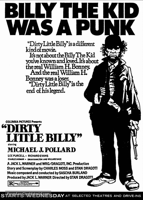 Dirty Little Billy - poster