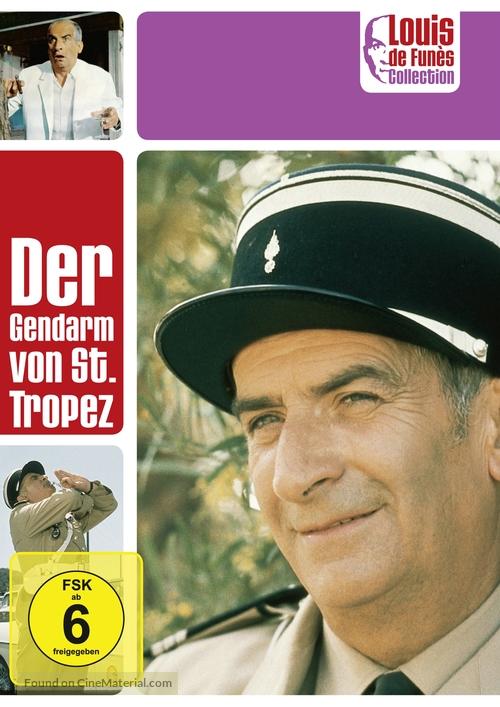 Le Gendarme De St Tropez 1964 German Dvd Movie Cover