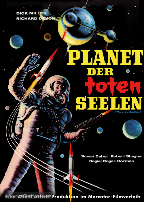 War of the Satellites - German DVD movie cover