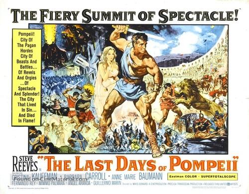 Ultimi giorni di Pompei, Gli - Movie Poster