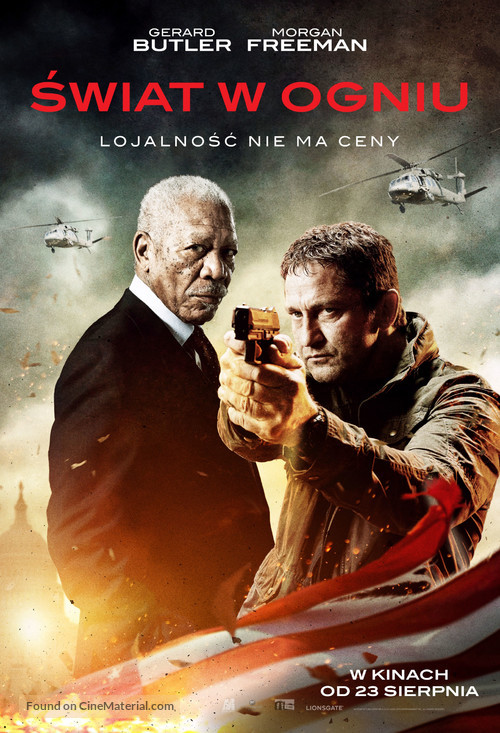 Angel Has Fallen - Polish Movie Poster
