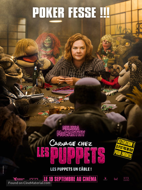 The Happytime Murders - French Movie Poster