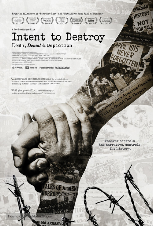 Intent to Destroy - Movie Poster