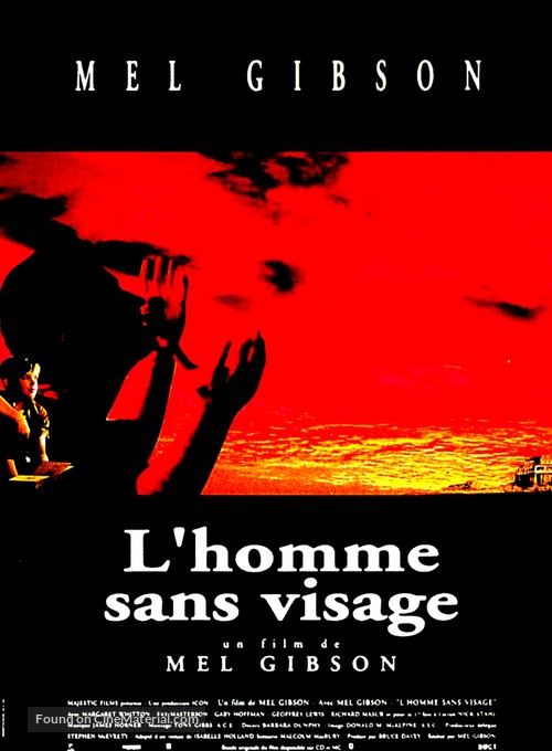 The Man Without a Face - French Movie Poster
