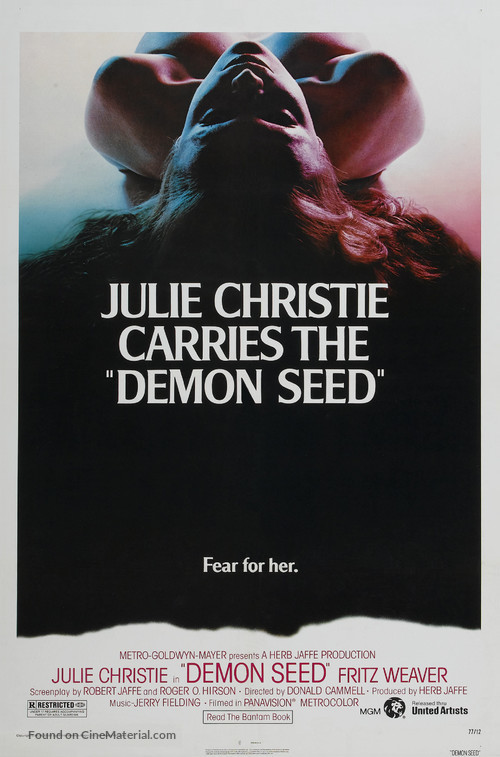 Demon Seed - Theatrical poster