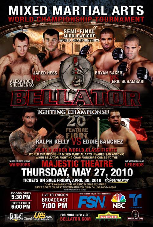 """Bellator Fighting Championships"" - Movie Poster"