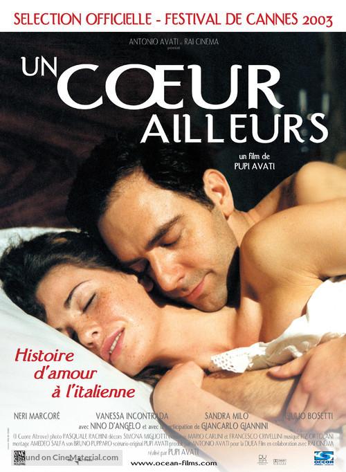 Il cuore altrove - French poster