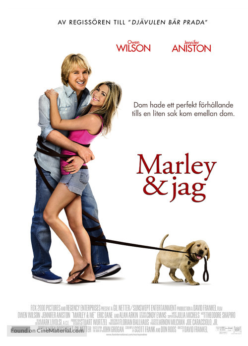 Marley & Me - Swedish Movie Poster