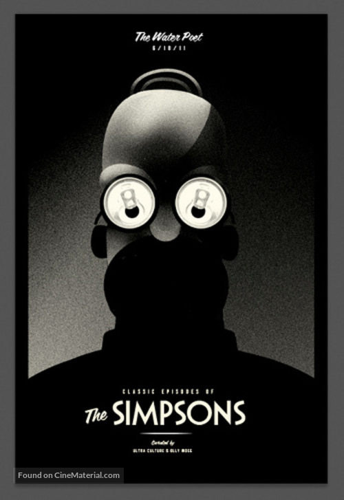 """""""The Simpsons"""" - Homage movie poster"""