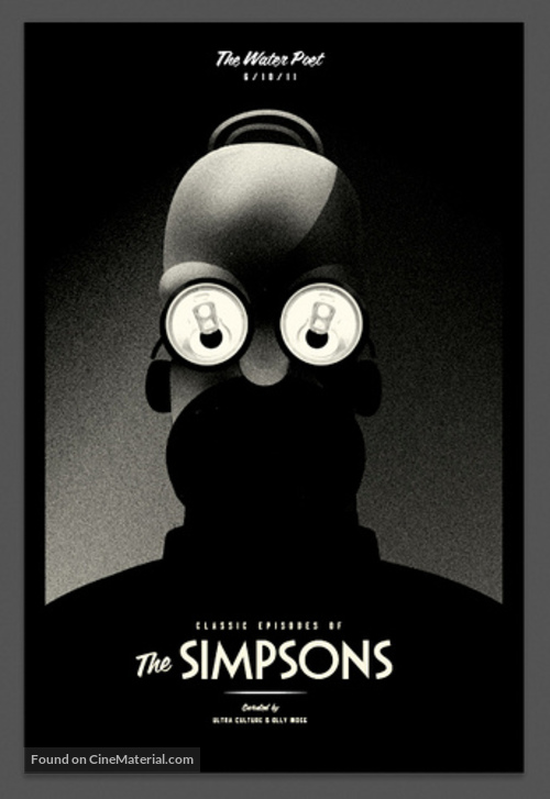 """""""The Simpsons"""" - Homage poster"""